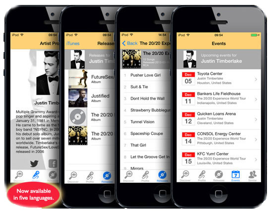 Song Buddy auf iOS App Store