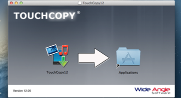 TouchCopy installer download to your PC